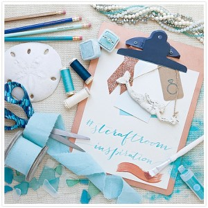The inspiration behind the Something Turquoise Craft Room!