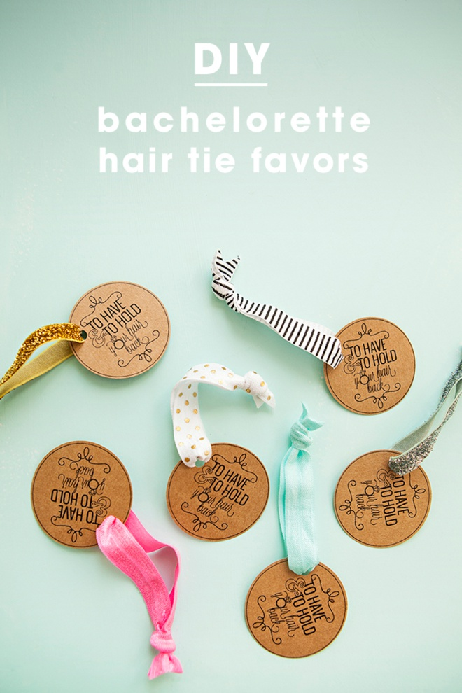 Learn how to make elastic hair tie favors! 4dc8c087438