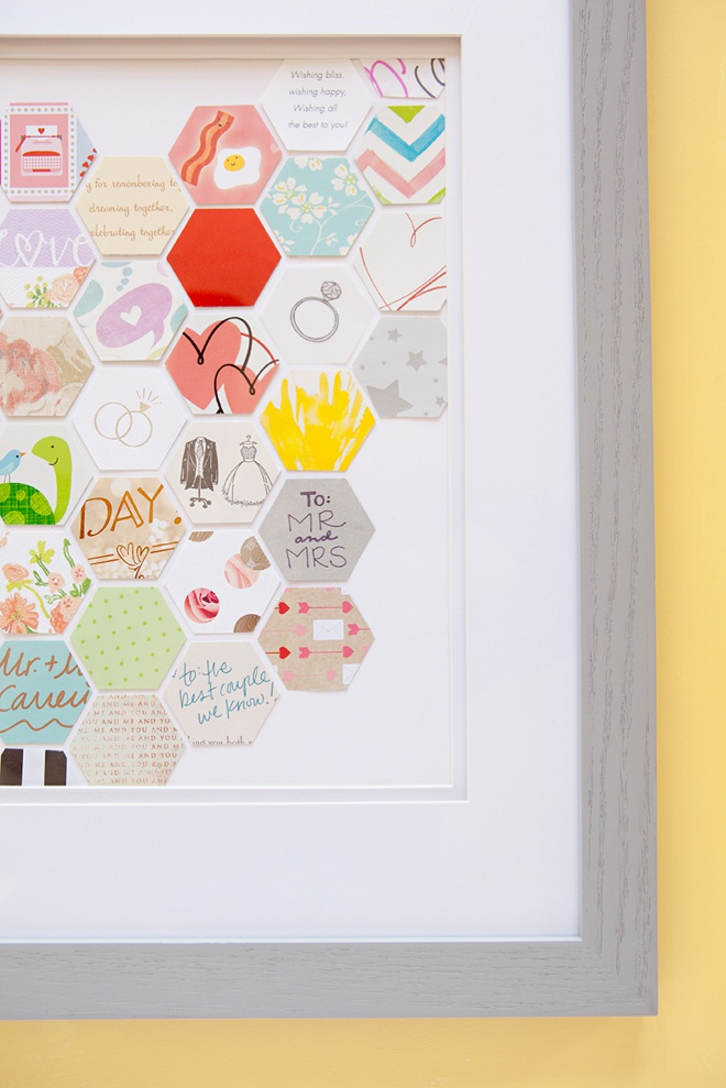 Awesome DIY Keepsake idea for saving your wedding cards!