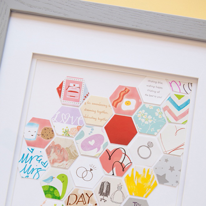How To Make This Awesome Wedding Card Keepsake Frame