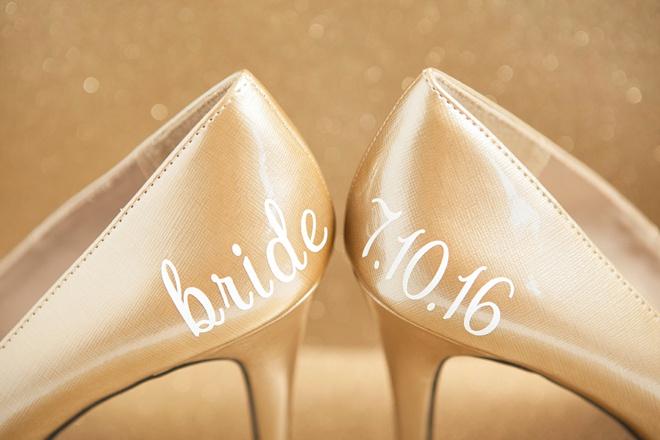 Diy Wedding Shoe Stickers Bridalpulse
