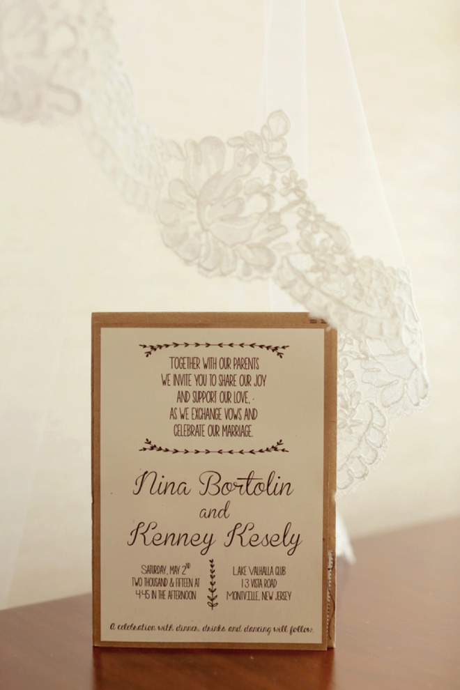 DIY wedding invitations!