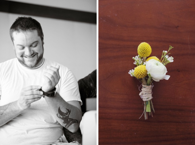 Groom + Boutonniere