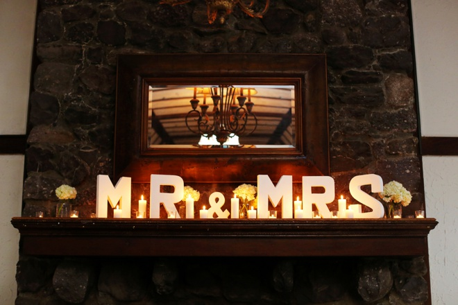 Mr & Mrs mantle letters