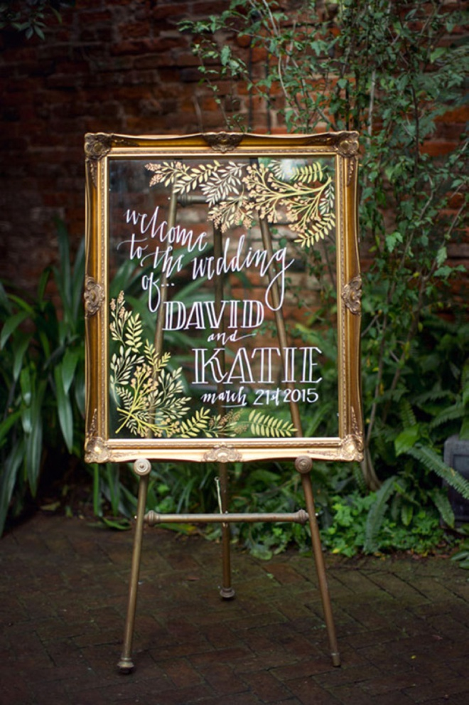 The best 20 wedding aisle signs ever awesome glass wedding ceremony sign junglespirit Choice Image