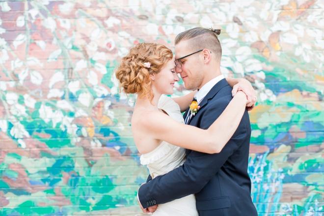 Colorful and heartfelt DIY wedding of Britt and Derek!