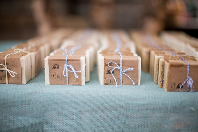 Adorable handmade soap wedding favors, 4 scents!