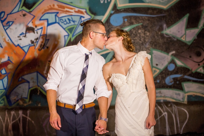 Colorful and heartfelt DIY wedding of Britt and Derek!