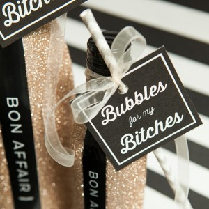 Learn how to glitter wine bottles the right way!