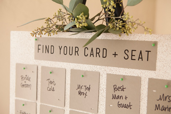 Unique and easy printed and punched diy escort cards awesome idea for easy diy escort cards free design printable solutioingenieria Images
