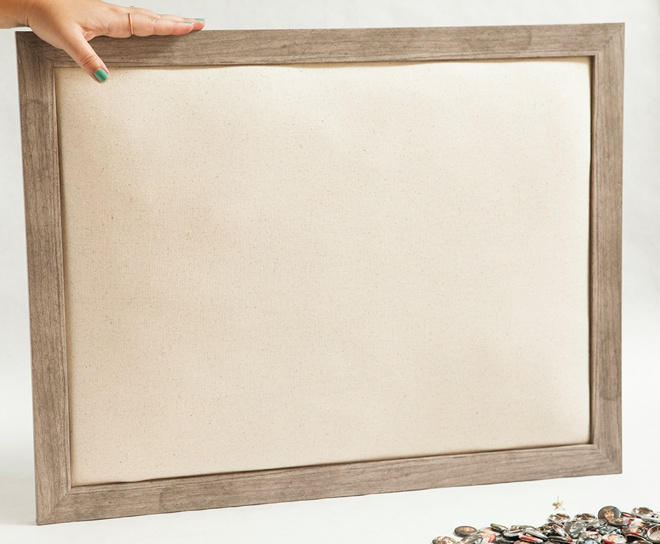 How to make a batting lined frame!