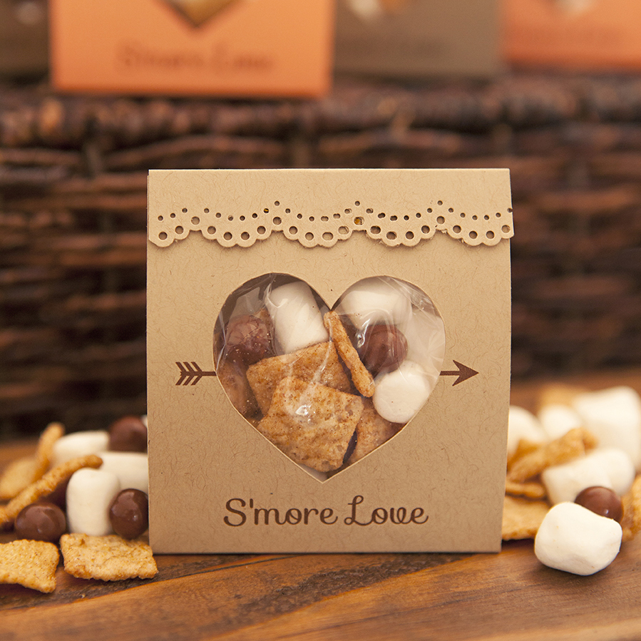 Wedding Favors: How To Make These Adorable S'more Love Wedding Favors