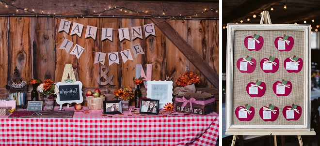 We Love This Darling Rustic Barn Wedding Reception!