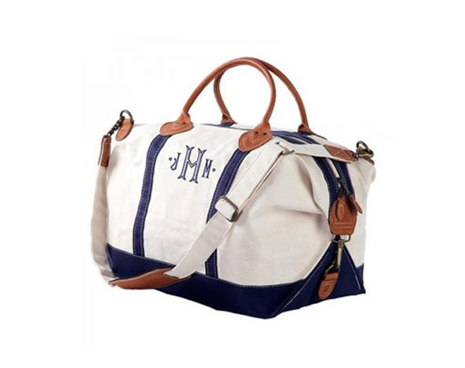 Monogramed Bridesmaid Bag