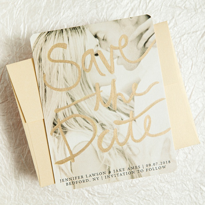 easily embellished wedding invitations with basic invite