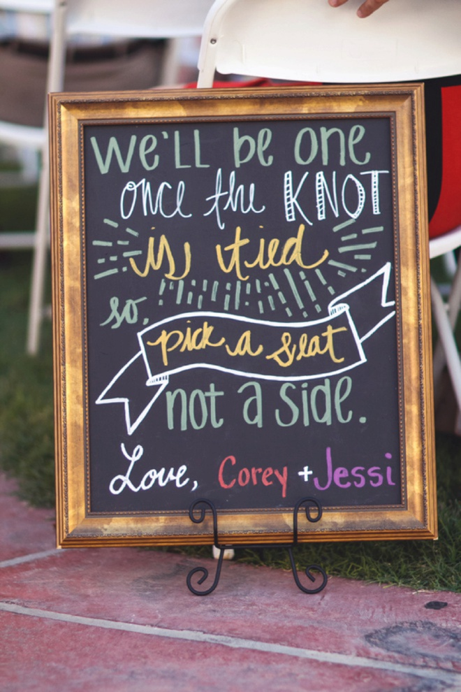 We'll be one once the knot is tied!