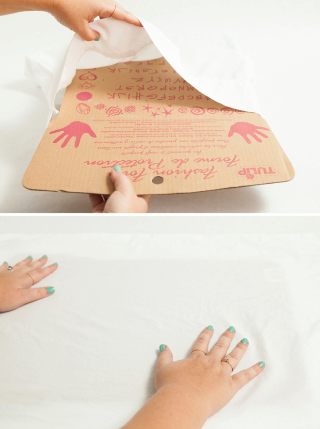 Awesome DIY idea; paint your own custom pillowcases!