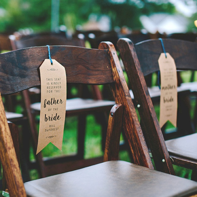 photo regarding Free Printable Reserved Seating Signs known as Generate Your Personalized Wedding day Rite Chair \