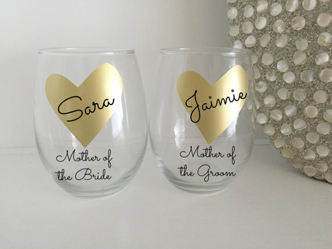 Mother of the Bride Glass
