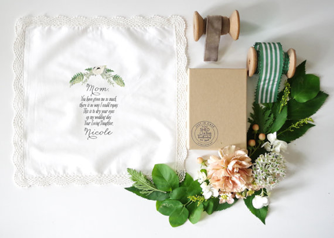 Sweet Mother of the Bride Hanky