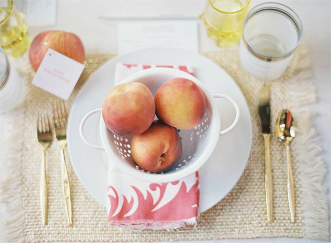 PEACH-PLACE-SETTING