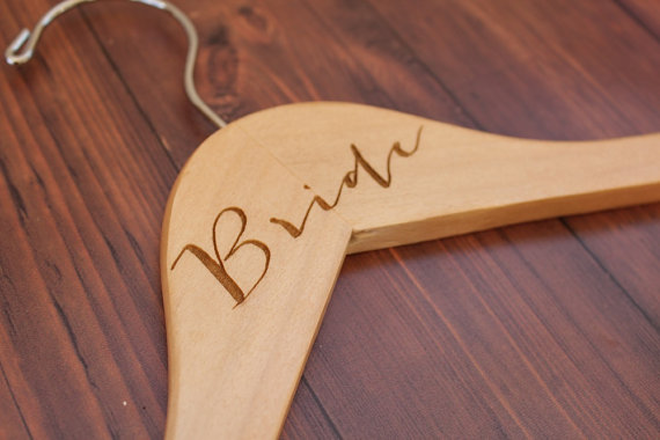 Adorable bride hanger