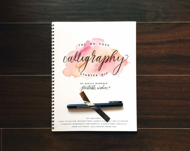 Calligraphy Kit by Kaspi Party