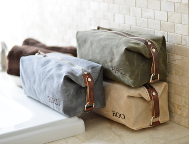 Gorgeous Personalized Toiletry Bag
