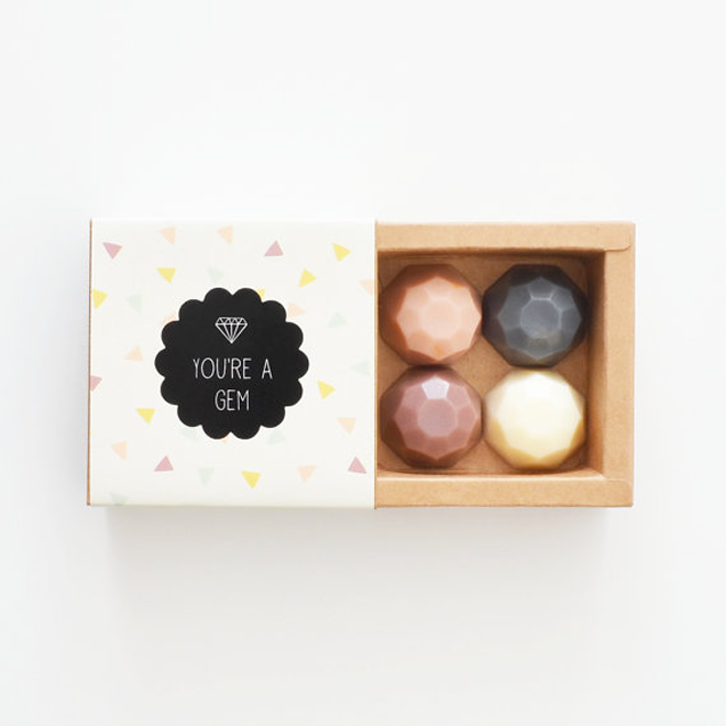 Cute Bridesmaid You're Gem Soap Set
