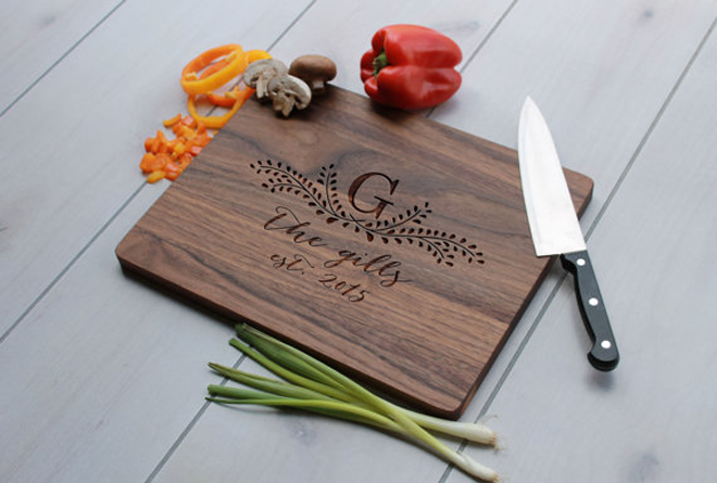 Amazing Last Name Cutting Board