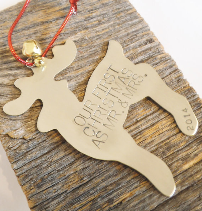 Just married christmas gift ideas