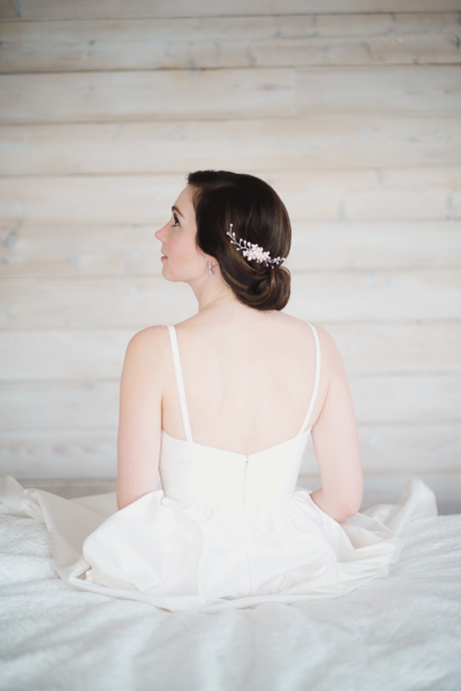 Gorgeous bridal portrait.