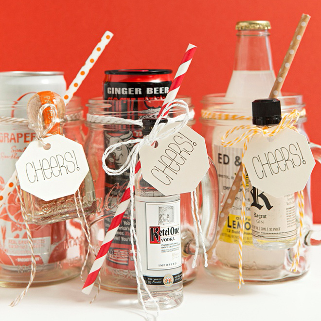 Make These Xl Mason Jar Cocktail Gifts