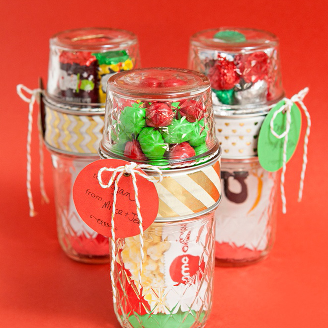 Make Your Own Double Mason Jar Gift Card Holders
