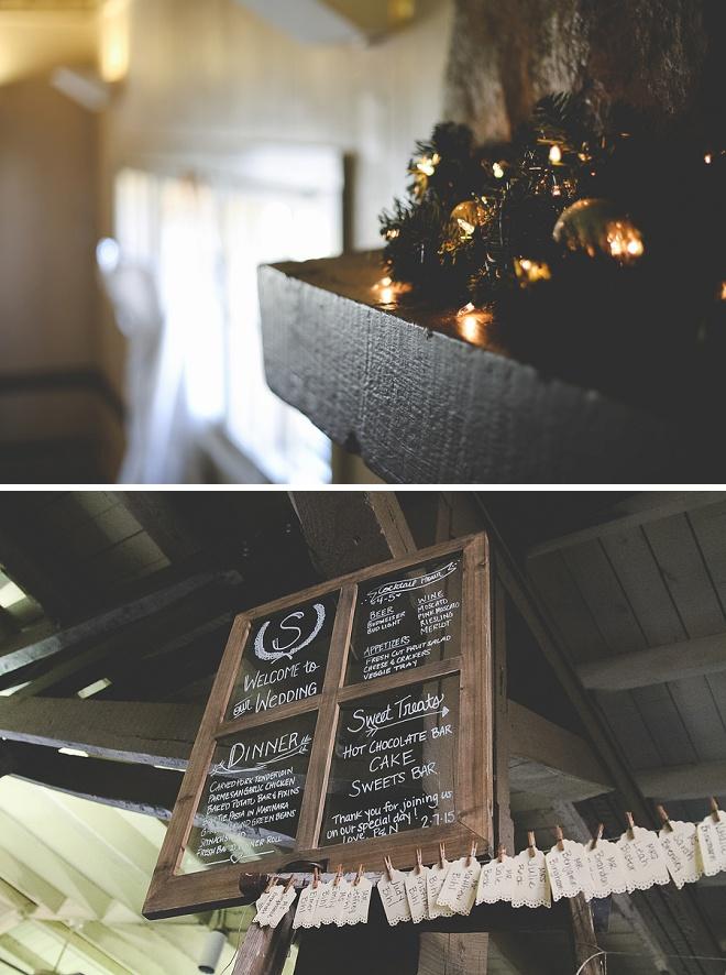 Love these rustic DIY wedding details!