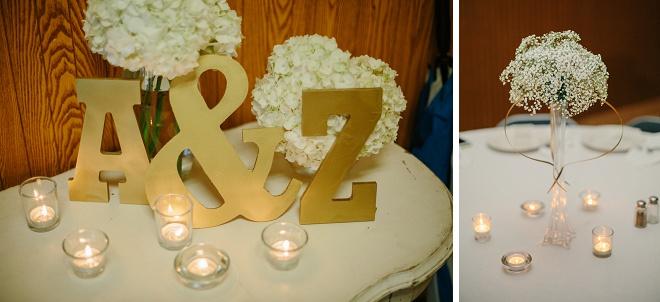 Gorgeous Rainy Day Wedding Details!