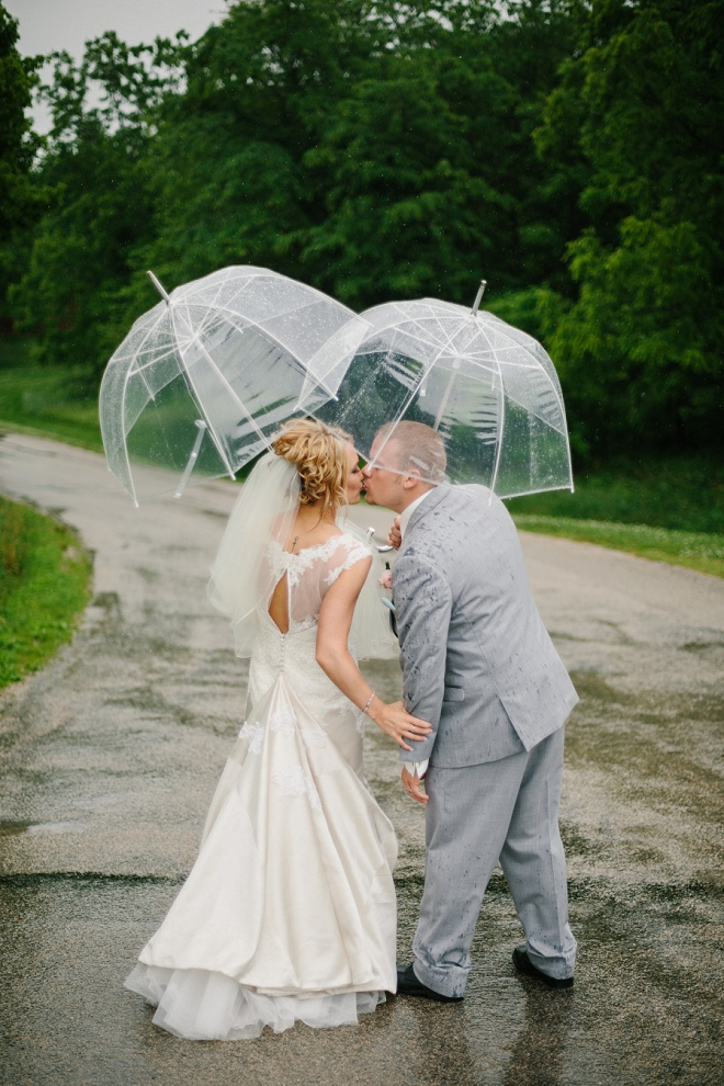 Gorgeous DIY Rainy Day Wedding!