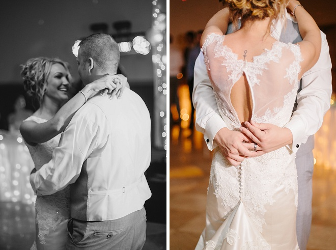 We love this darling first dance and DIY wedding!