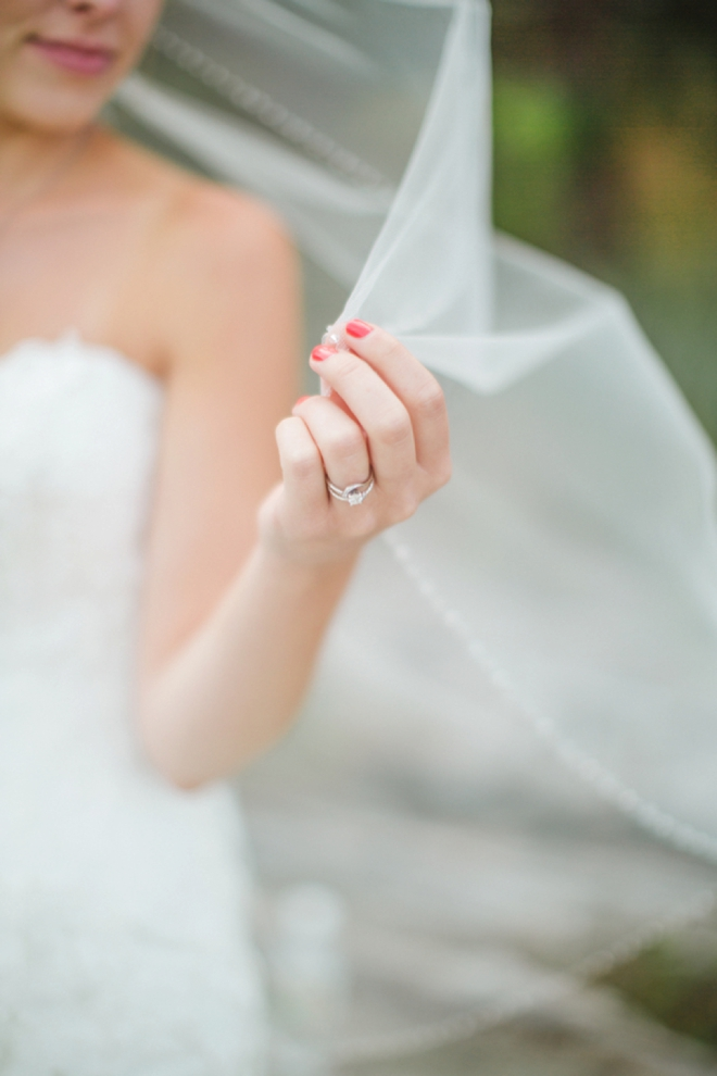 Stunning wedding ring shot!