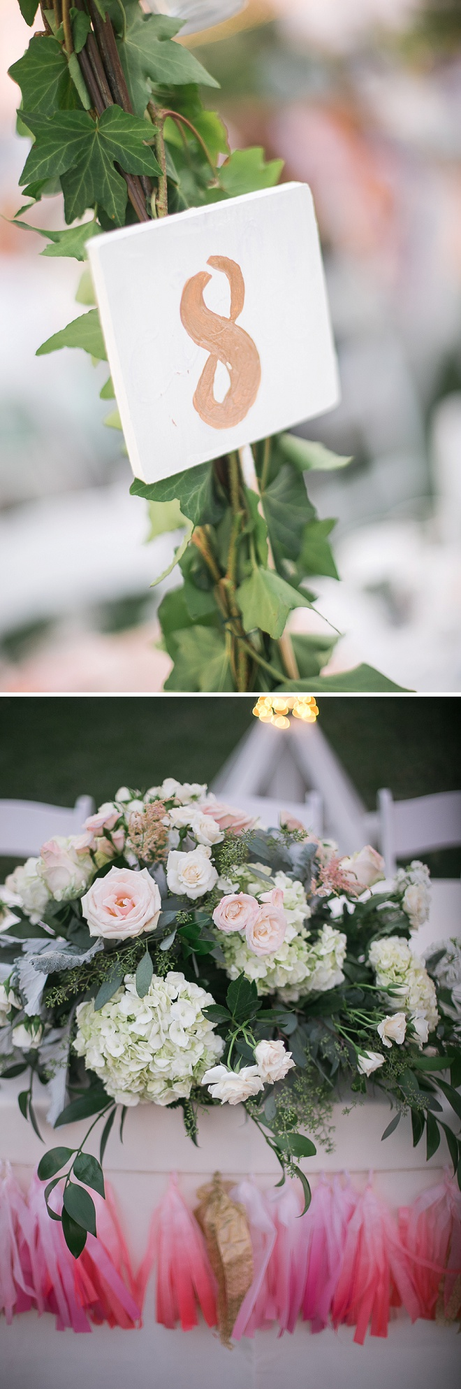Gorgeous details at this gorgeous wedding!