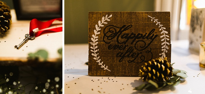 We love this gorgeous DIY art gallery wedding!