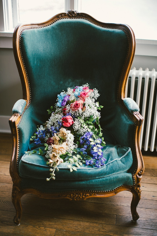 We're loving this gorgeous bouquet!