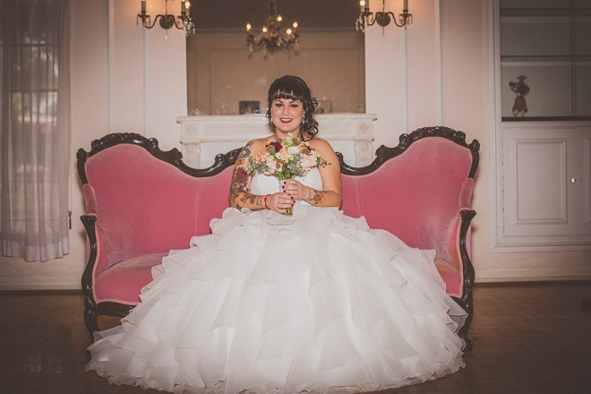 Gorgeous Bride before the wedding!