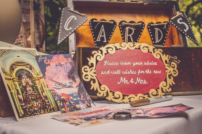 We're loving this fun, vintage carnival style wedding!