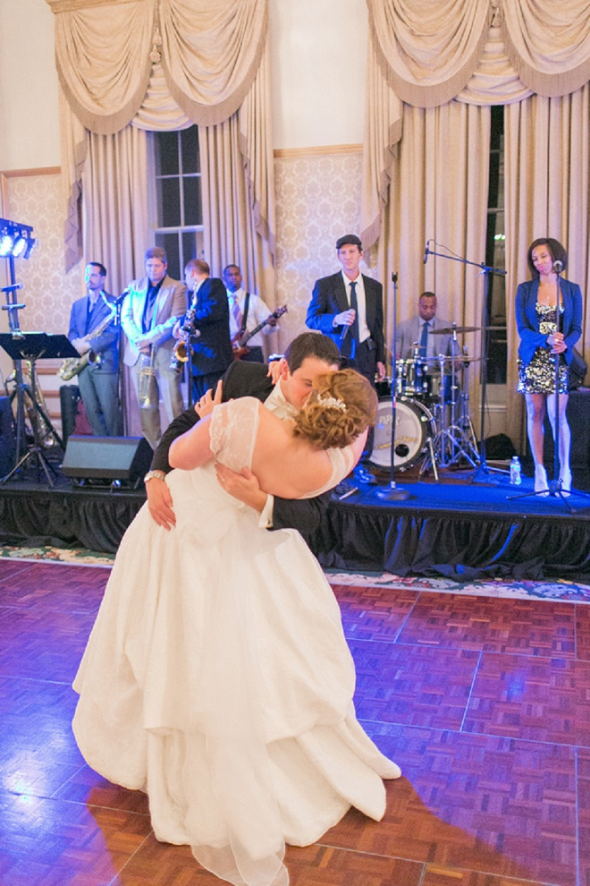 Love this first dance and Mr. and Mrs!