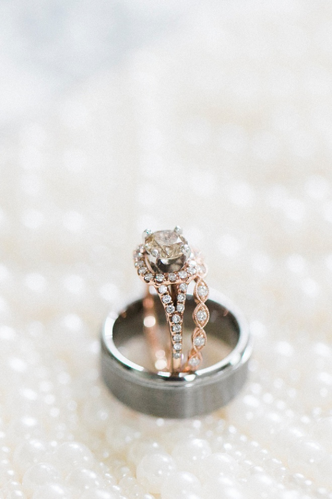 We're dying over this gorgeous ring shot!