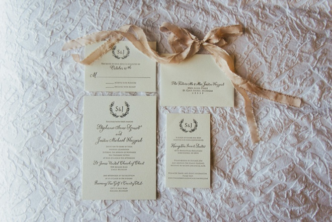 We love this gorgeous invitation suite!