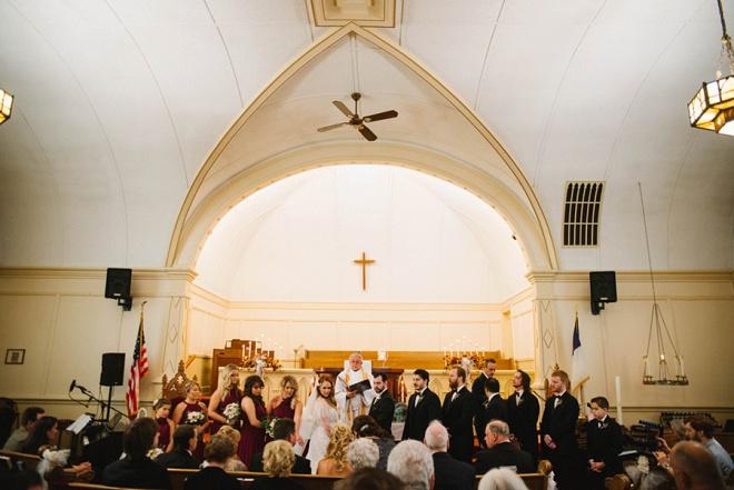 Gorgeous wedding ceremony!