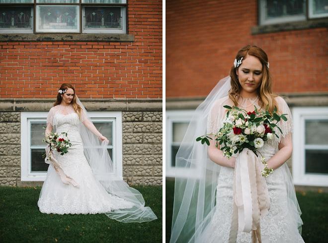 We love this gorgeous DIY winter wedding!