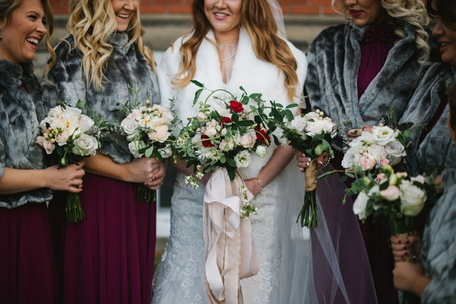 We love this darling winter DIY wedding!